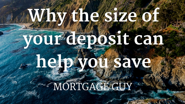 Why the size of your deposit can help you save