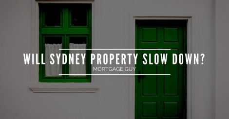 When will Sydney property price growth slow down?
