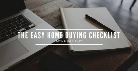 Quick & Easy Buying a House Checklist