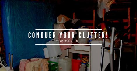 The 4-step de-clutter cure