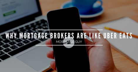 Why an independent mortgage broker is a lot like Uber Eats