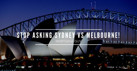 Sydney vs Melbourne? Here's a more valuable question to make you think.